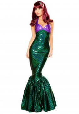 Mermaid Temptress Costume