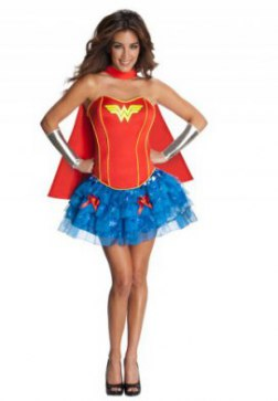 Wonder Woman Flirty Halloween Costume