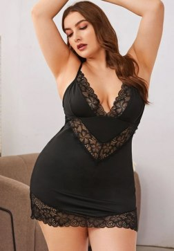 Plus Size Promise To Be True Babydoll Set