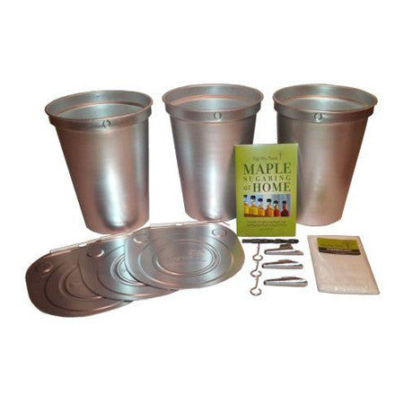 Starter Kit with 2 Gallon Aluminum Buckets