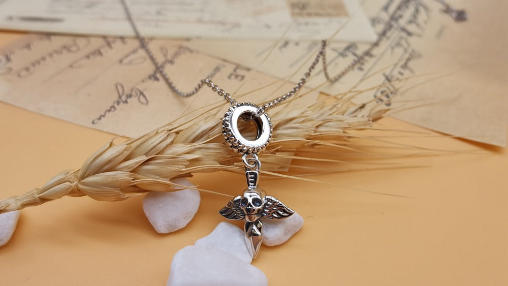 Halloween Skull Charms Necklace