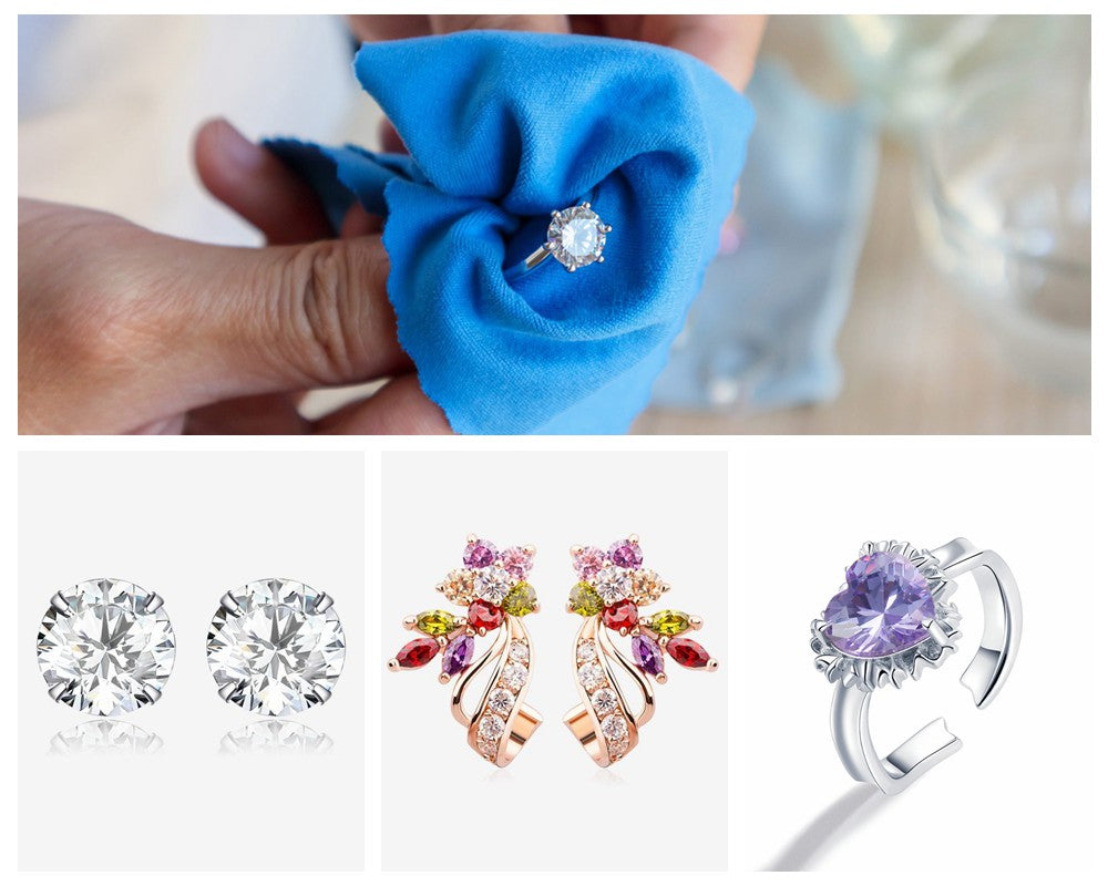 How to Clean Bamoer CZ Stone Jewelry at Home