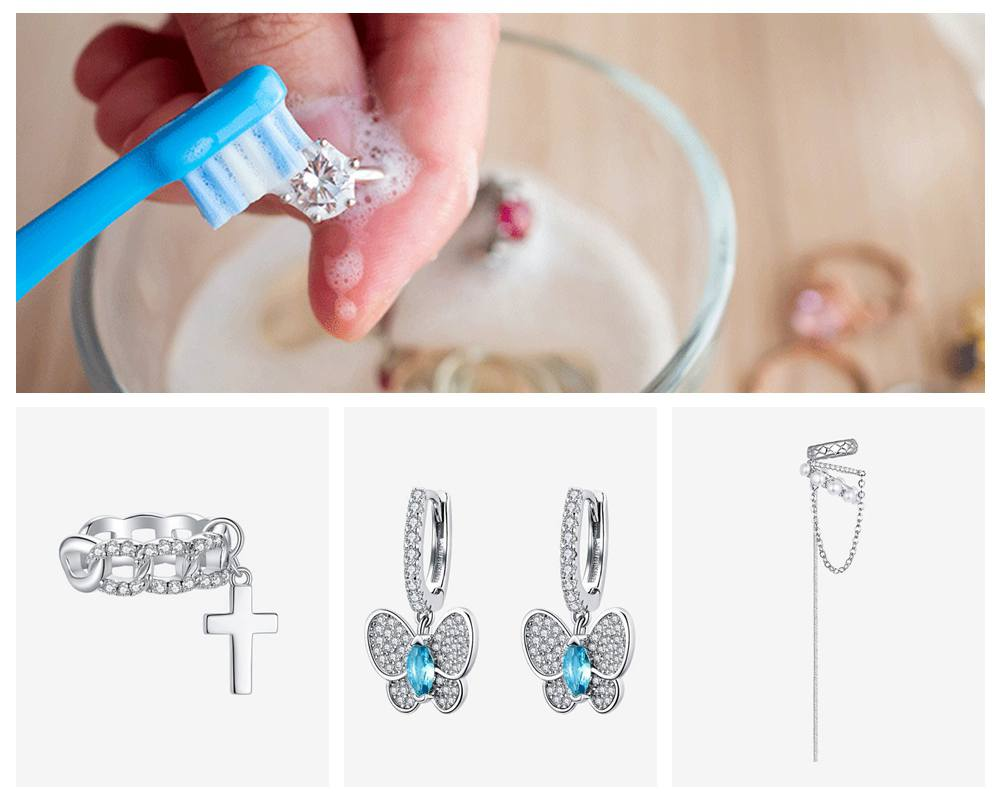 How to Clean Bamoer Silver Jewelry at Home