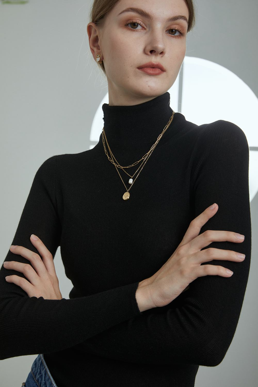 Layered Necklace-6 Fall Jewelry Trends You Won't Miss-Bamoer Jewelry