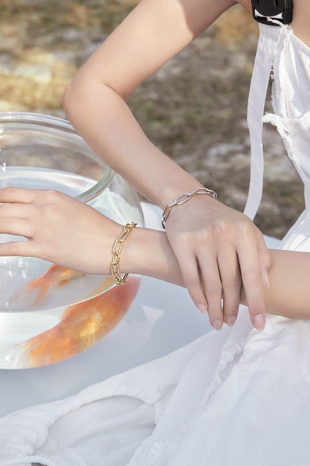 Paperclip Chain Bracelets-6 Fall Jewelry Trends You Won't Miss-Bamoer Jewelry