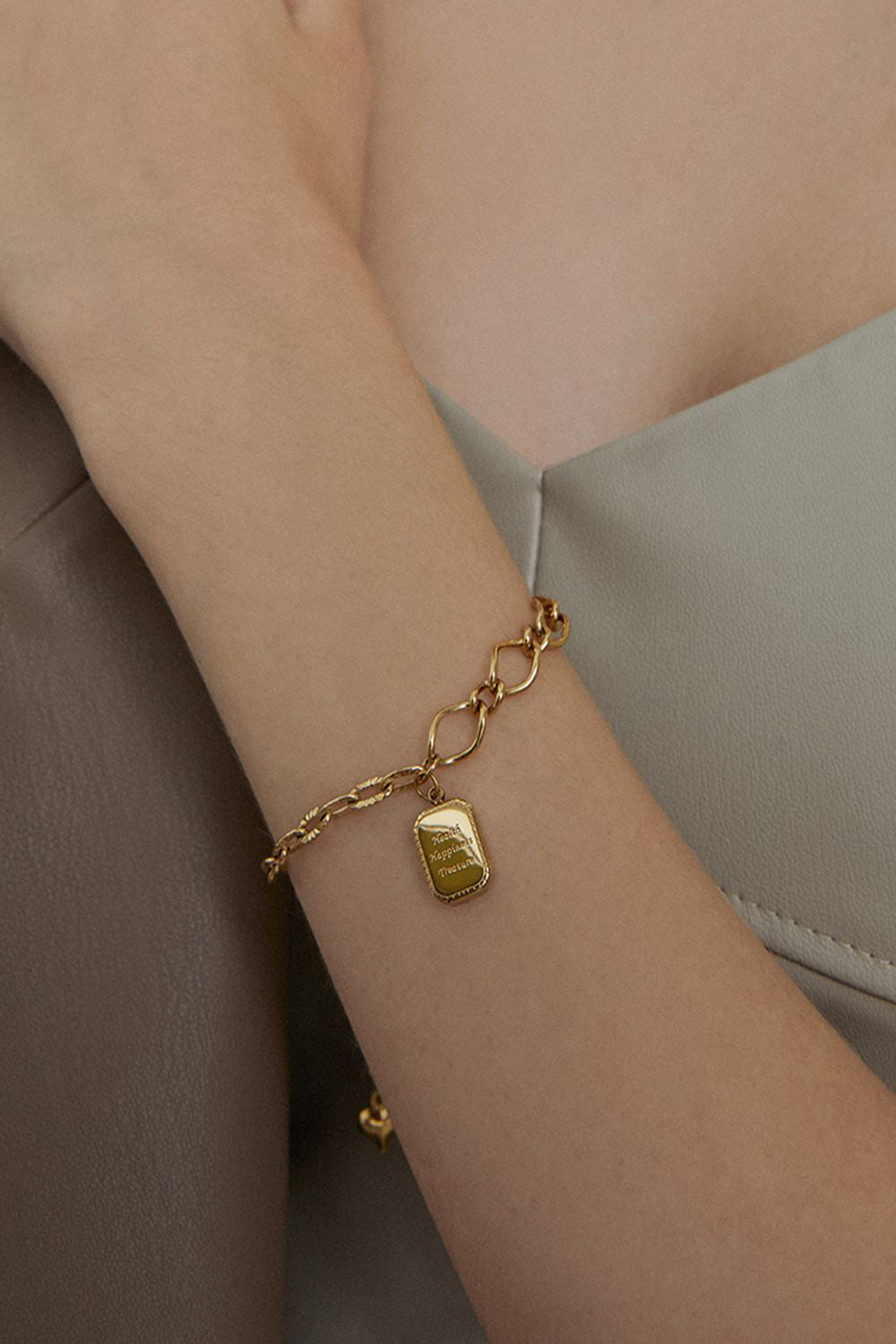 Paperclip Punk Chain Bracelet Fall Jewelry Trends
