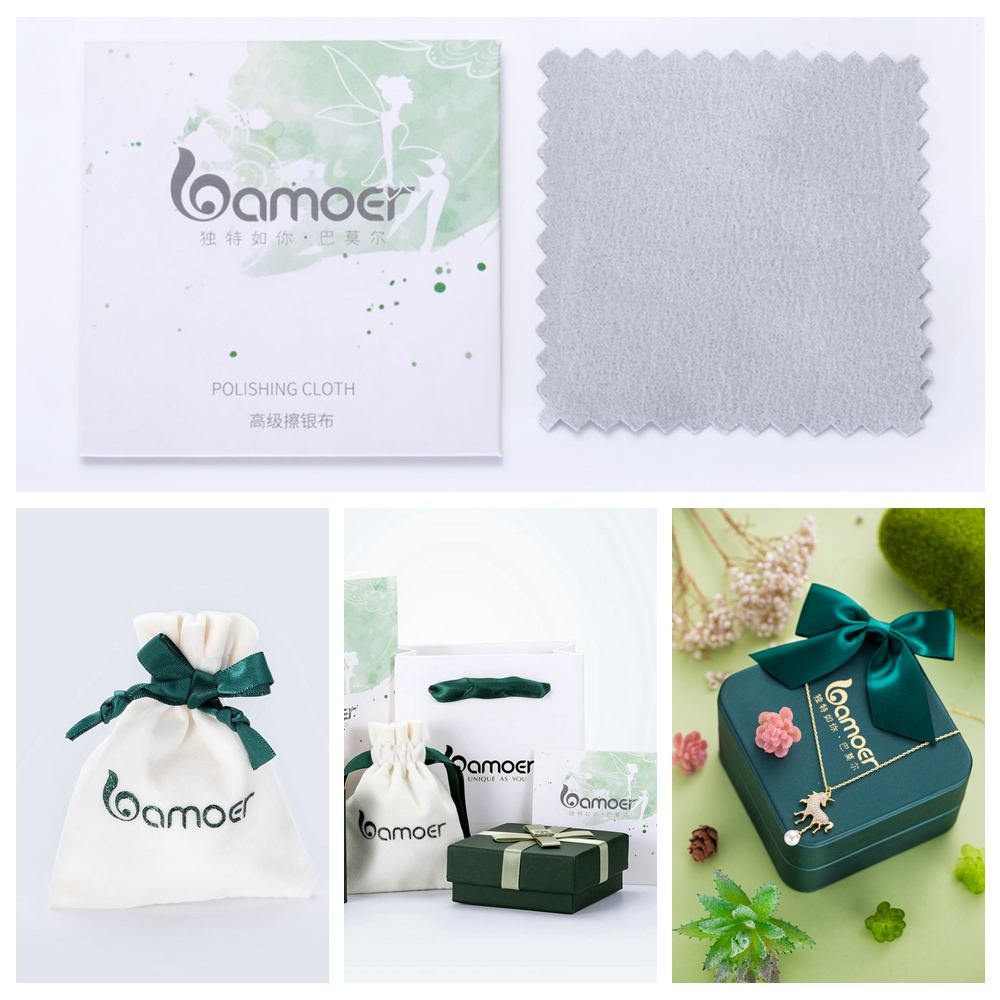 bamoer package bags and polishing cloth