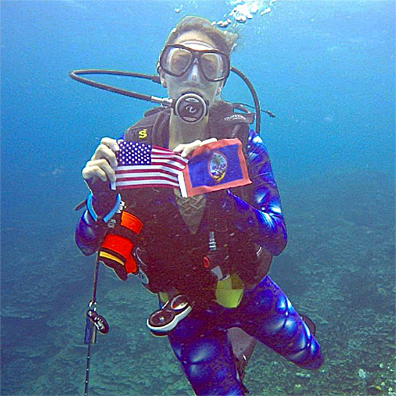 Diving in Guam… Where America's Day Begins!