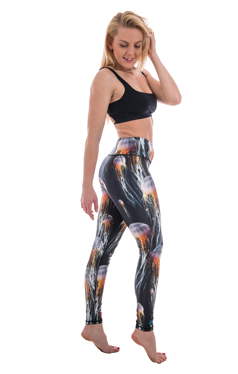 SlipIns Sea Legs - Sun Protective Leggings - Jammin Jellies