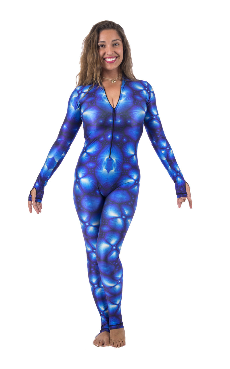 DiveSkinDiveSkins are a UPF 50+ one piece body suit.
