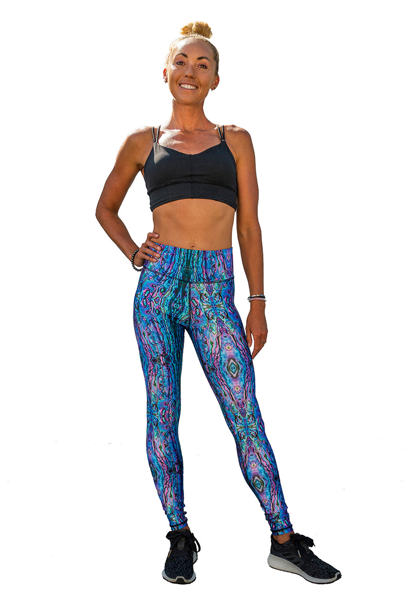 SlipIns Sea Legs - Sun Protective Leggings - Pink Abalone