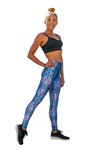 SlipIns Sea Legs - Sun Protective Leggings - Amazing Abalone