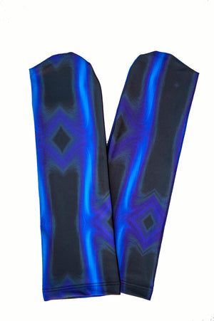 SlipIns Dive Soxx - Electric Blue Wave