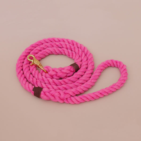 Lasso-Regular-Leash-Rope-Pink