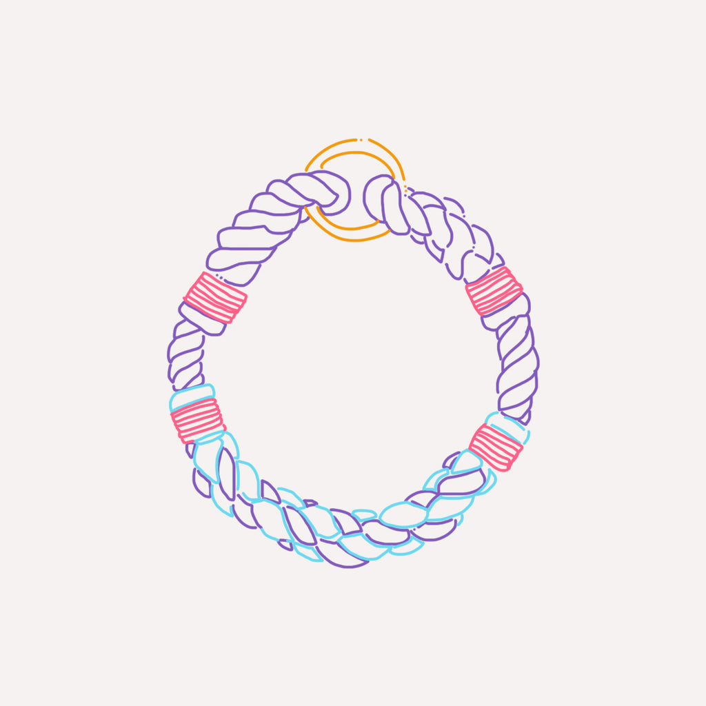 Lasso Cruiser Rope Collar Illustration