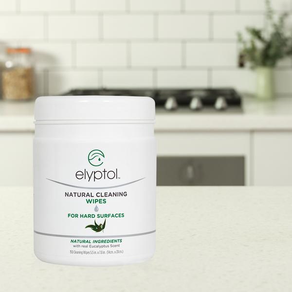 Elyptol Natural Cleaning Wipes (150 Count Canister)