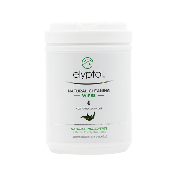 Elyptol Natural Cleaning Wipes (75 Count XL Canister)