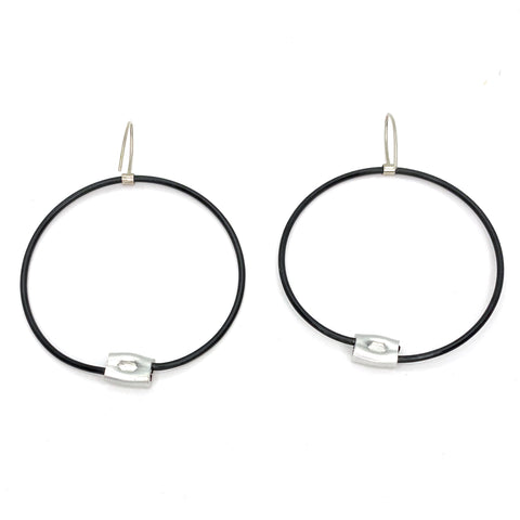 MPR Maxi Cable Collection: Circle Line Hooks in Black