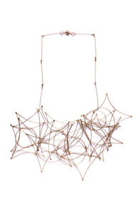 Shape Bib Necklace