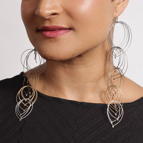 Max Feather Hook Earrings