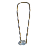 Sea Change Crystal Ball Necklace