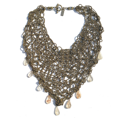 Sea Change Bronze Kerchief Necklace