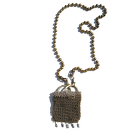 Sea Change Pearl Tassel Purse