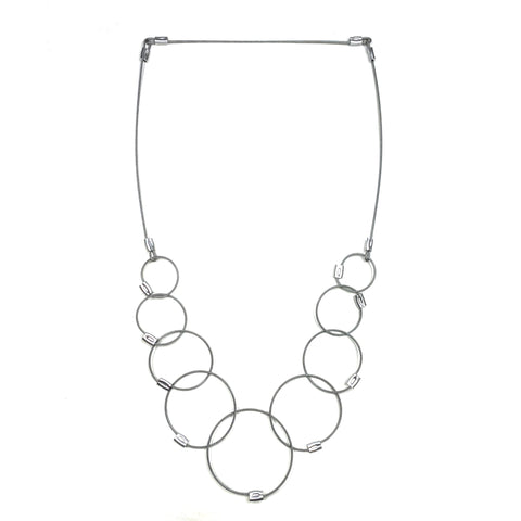 MPR Maxi Cable Collection: Neuf Chain Necklace in Steel
