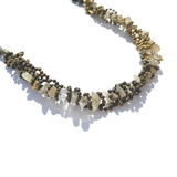 Sea Change Woven Swirl Necklace