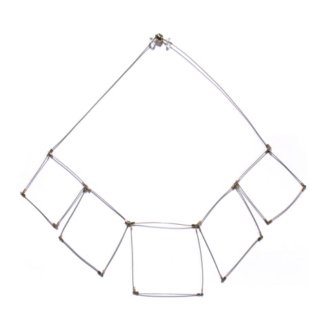 Square Line Necklace