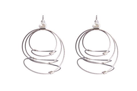 Swirl Earrings (Posts)