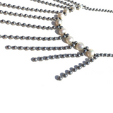 Sea Change Pearl Fringe Necklace