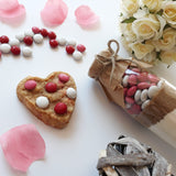 VALENTINE'S Day Cookie Mix - Sweet | Love | Perfect. Makes 6 or 12 delicious cookies