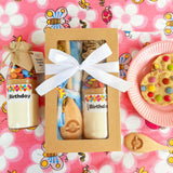 Baking Box - Smartie Happy Birthday - Vibrant Pattern Apron