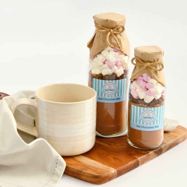 HOT Chocolate Drink Mix - Decadent | Divine | Heaven. Makes 2 or 4 decadent drinks