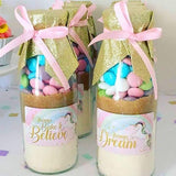 "UNICORN Themed ""Take & Bake"" Cookie Mix Party Favours"