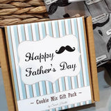 Father's Day Cookie Mix Gift Pack. Contains 2 delicious Choc Chip Cookie Mixes.