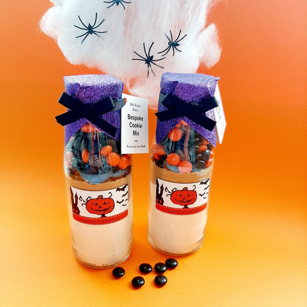 HALLOWEEN Cookie Mix in a bottle. Frightful | Spooky | Trick or Treat Gift