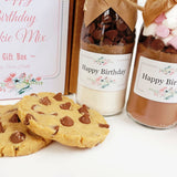 HAPPY BIRTHDAY FLORAL Gift Pack - Contains 2 of our delicious & decadent small mixes