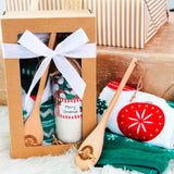 CHRISTMAS COOKIE MIX & TEA TOWEL BOX