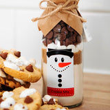 CHRISTMAS - MELTED SNOWMAN (Friends of Christmas) Cookie Mix. Makes 6 or 12 delicious cookies