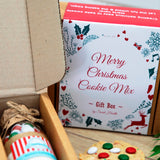 CHRISTMAS - MERRY CHRISTMAS Gift Pack. Contains 2 small cookie mixes