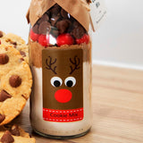 CHRISTMAS - RUDOLPH (Friends of Christmas) Cookie Mix. Makes 6 or 12 delicious cookies
