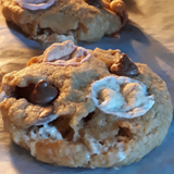 S'MORES Cookie Mix in a bottle - S'mores of fun. Makes 6 or 12 delicious cookies