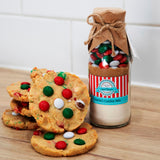 CHRISTMAS - SANTA'S Cookie Mix. Makes 6 or 12 delicious Christmas coloured cookies
