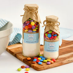 Smartie Cookie Mix in a bottle