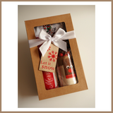 Christmas Gift Box - RUDOLPH (Friends of Christmas) COOKIE MIX & TEA TOWEL SET