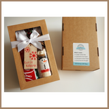 Christmas Gift Box - MELTED SNOWMAN (Friends of Christmas) COOKIE MIX & TEA TOWEL SET