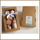 Christmas Gift Box - SANTA'S COOKIE MIX & TEA TOWEL SET