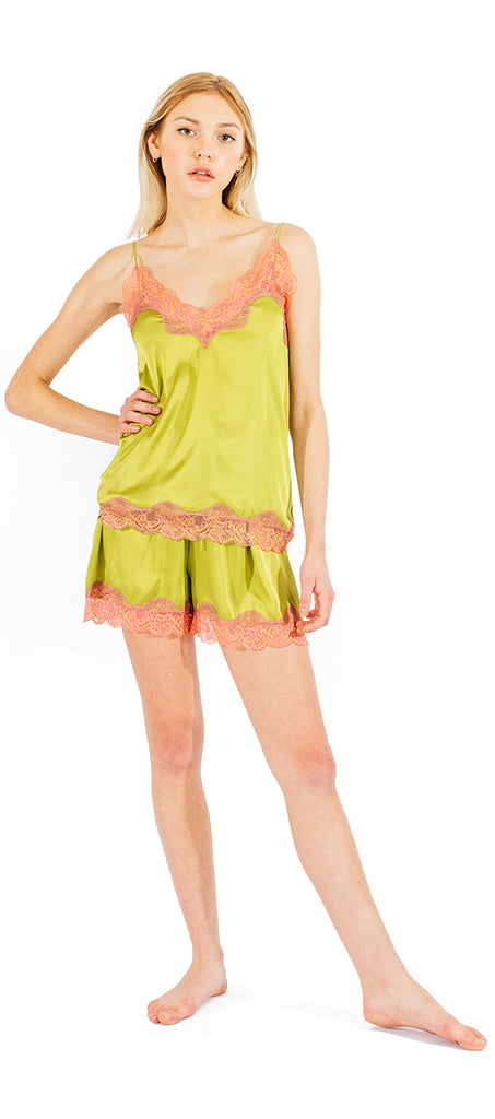 DALHIA CAMI SET - GREEN